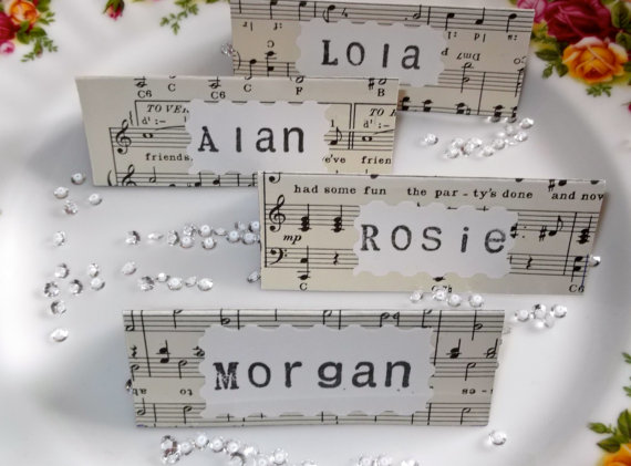 Mariage Musical (pic: creativeweddingstuff)